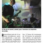 Le Dauphiné Libéré, 4 septembre 2014