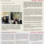 Articles Ma Bastide octobre et novembre 2014