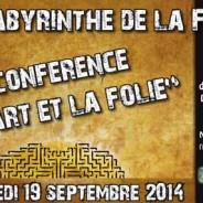 Conférence L'Art et la Folie