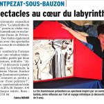 Dauphiné Libéré 27 août 2015