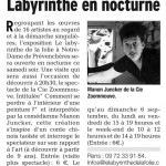 Dauphiné Libéré 29 août 2015