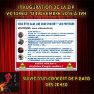 Inauguration de la ZIP